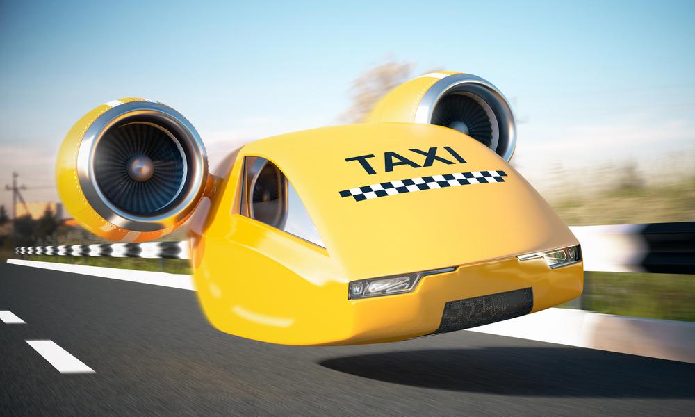 Через 5 лет в городах могут появиться летающие такси