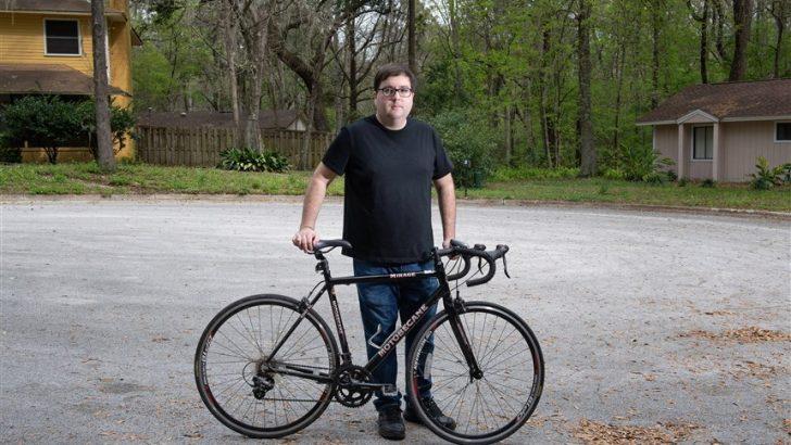 Велосипедиста заподозрили в ограблении потому, что по треку в Google он проезжал рядом с местом преступления