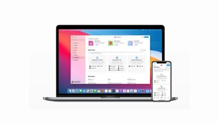C 8 декабря компания Apple вводит обязательное информирование пользователей о собираемых данных