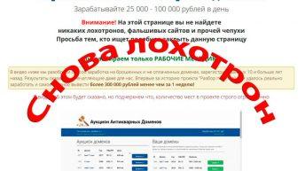 Антикварные домены — лохотрон. Отзыв о аукционе антикварных доменов.