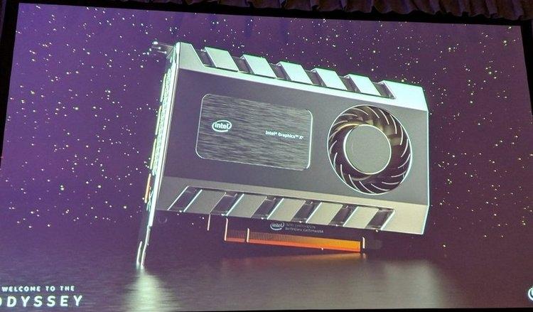 Новейшие видеокарты от Intel